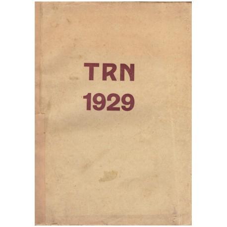 TRN 1929, ročník V., číslo 1-27