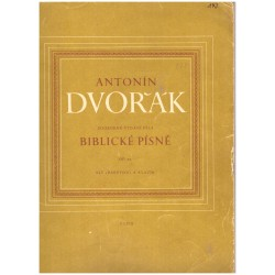 Dvořák, A.: Biblické písně - Alt (baryton) a klavír
