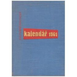 Kulturně politický kalendář 1961