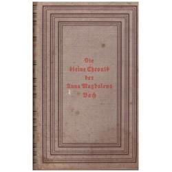Meynell, E.: Die kleine Chronik der Anna Magdalena Bach