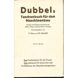 Dubbels Taschenbuch für den Maschinenbau