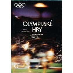Procházka, K.: Olympijské hry od Athén 1896 pod Moskvu 1980