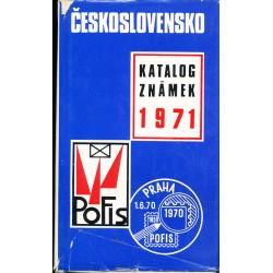 Československo 1971 - Katalog známek