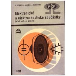 Nečásek, S. a Janeček, J. a Ramboussek, J.: Elektronické a elektroakustické součástky
