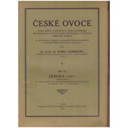 Kamenický, K.: České ovoce. Jablka. Díl VI., část II.