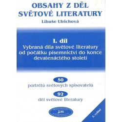 Ulrichová, L.: Obsahy z děl světové literatury - 1. díl