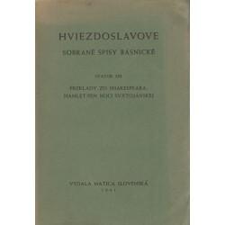 Hviezdoslovove sobrané spisy básnické