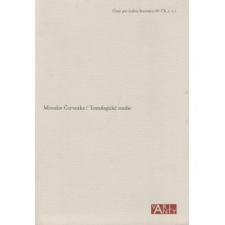 Červenka, M.: Textologické studie