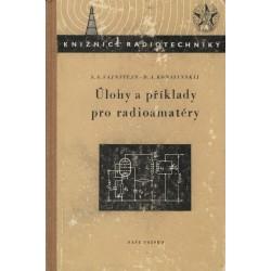 Vajnštejn, S. S., Konašinskij, D. A.: Úlohy a příklady pro radioamatéry