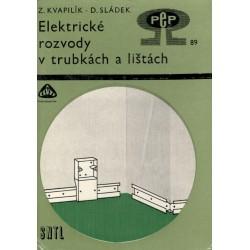 Kol.: Elektrické rozvody v trubkách a lištách