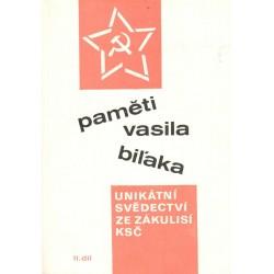 Paměti Vasila Bilaka II.