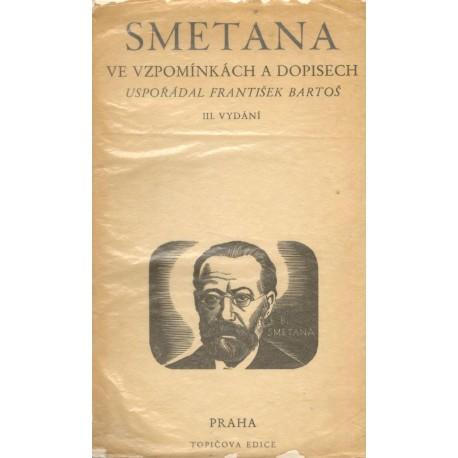 Bartoš, F.: Smetana ve vzpomínkách a dopisech