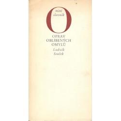 Souček, L.: Oprav oblíbených omylů - mini slovník
