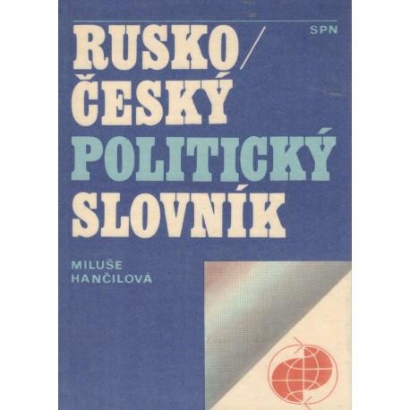 Hančilová, M.: Rusko / český politický slovník