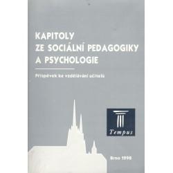 Kapitoly ze sociální pedagogiky a psychologie
