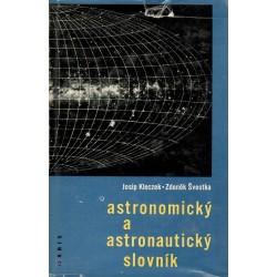 Kleczek, J.: Astronomický a astronautický slovník