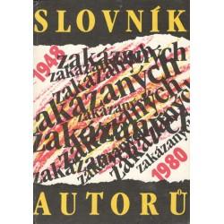 Slovník zakazaných autorů 1948-1980