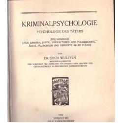 Wulffen, E.: Kriminalpsychologie