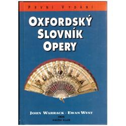 Warrack, J. a West, E.: Oxfordský slovník opery