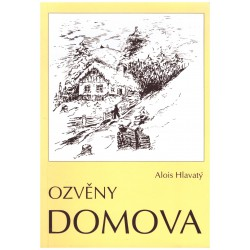 Hlavatý, A.: Ozvěny domova (podpis autora)