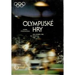 Procházka, K.: Olympijské hry