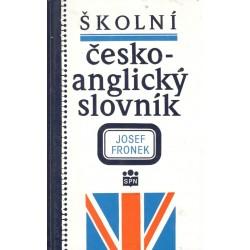 Fronek, J.: Školní česko-anglický slovník