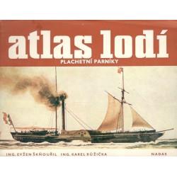 Kol.: Atlas lodí - plachetní parníky