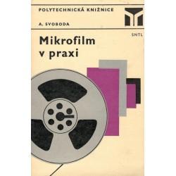 Svoboda, A.: Mikrofilm v praxi