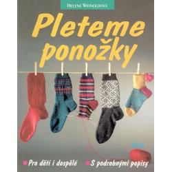 Weinoldová, H.: Pleteme ponožky