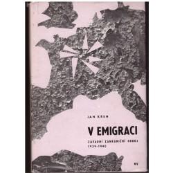 Křen, J.: V emigraci