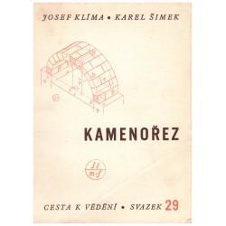 Klíma, J. a Šimek, K.: Kamenořez