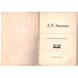 Šmrha, J., Bittmann, B.: Kdo je A. V. Suvorov