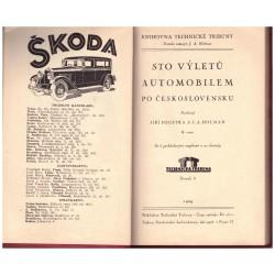 Foustka, J., Holman, J. A.: Sto výletů automobilem po Československu