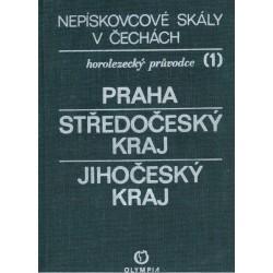 Novotný, J. a kol.: Nepískovcové skály v Čechách. Praha. Středočeský kraj. Jihočeský kraj