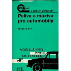 Dyk, A.: Paliva a maziva pro automobily