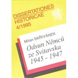 Skřivánek, M.: Odsun Němců ze Svitavska 1945-1947