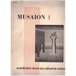 MUSAION 1 Aventinská revue pro výtvarné umění