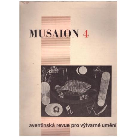 MUSAION 4 Aventinská revue pro výtvarné umění
