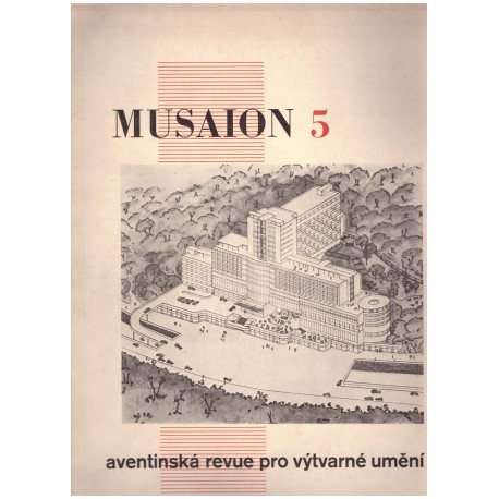 MUSAION 5 Aventinská revue pro výtvarné umění