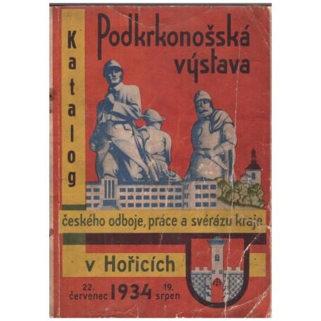 Katalog: Podkrkonošská výstava 1934