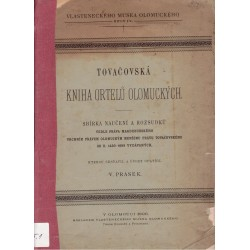 Prasek, V.: Tovačovská Kniha ortelů olomouckých