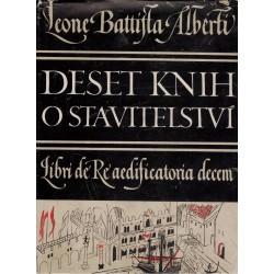 Alberti, L. B.: Deset knih o stavitelství