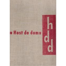 Host do domu. Měsíčník pro literaturu, umění a kritiku IX, 1962