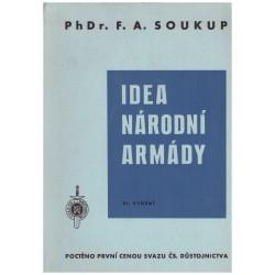 Soukup, F. A.: Idea národní armády