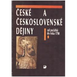 České a československé dějiny I. Od počátků do roku 1790