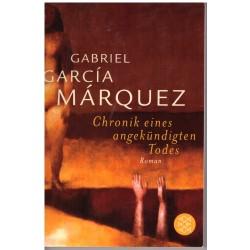 Marquéz, G. G.: Chronik eines angekündigten Todes
