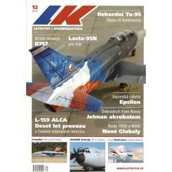 Čadil, J. a kol.: Letectví + kosmonautika 12/2010
