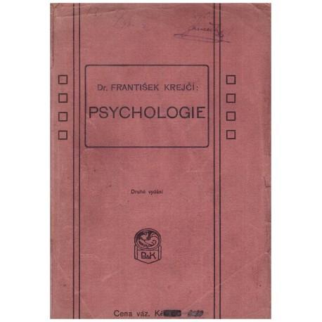 Krejčí, F.: Psychologie
