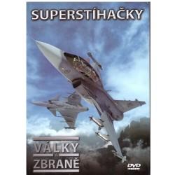 Kolektiv: Války a zbraně - Superstíhačky (DVD a knižní průvodce)
