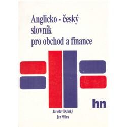 Dubský, J., Mára, J.. Anglicko-český slovník pro obchod a finance